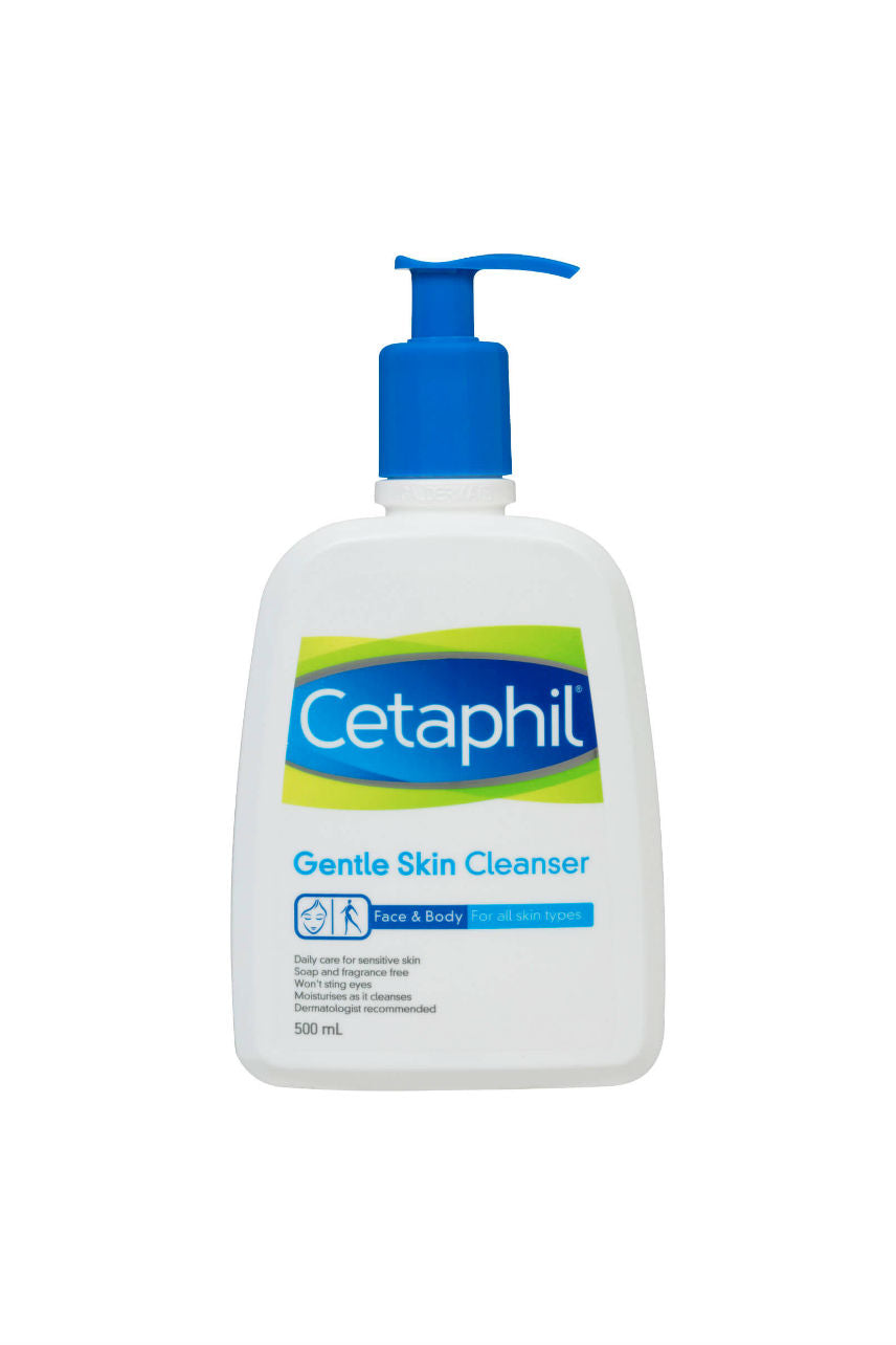 CETAPHIL Gentle Skin Cleanser 500ml - Life Pharmacy St Lukes