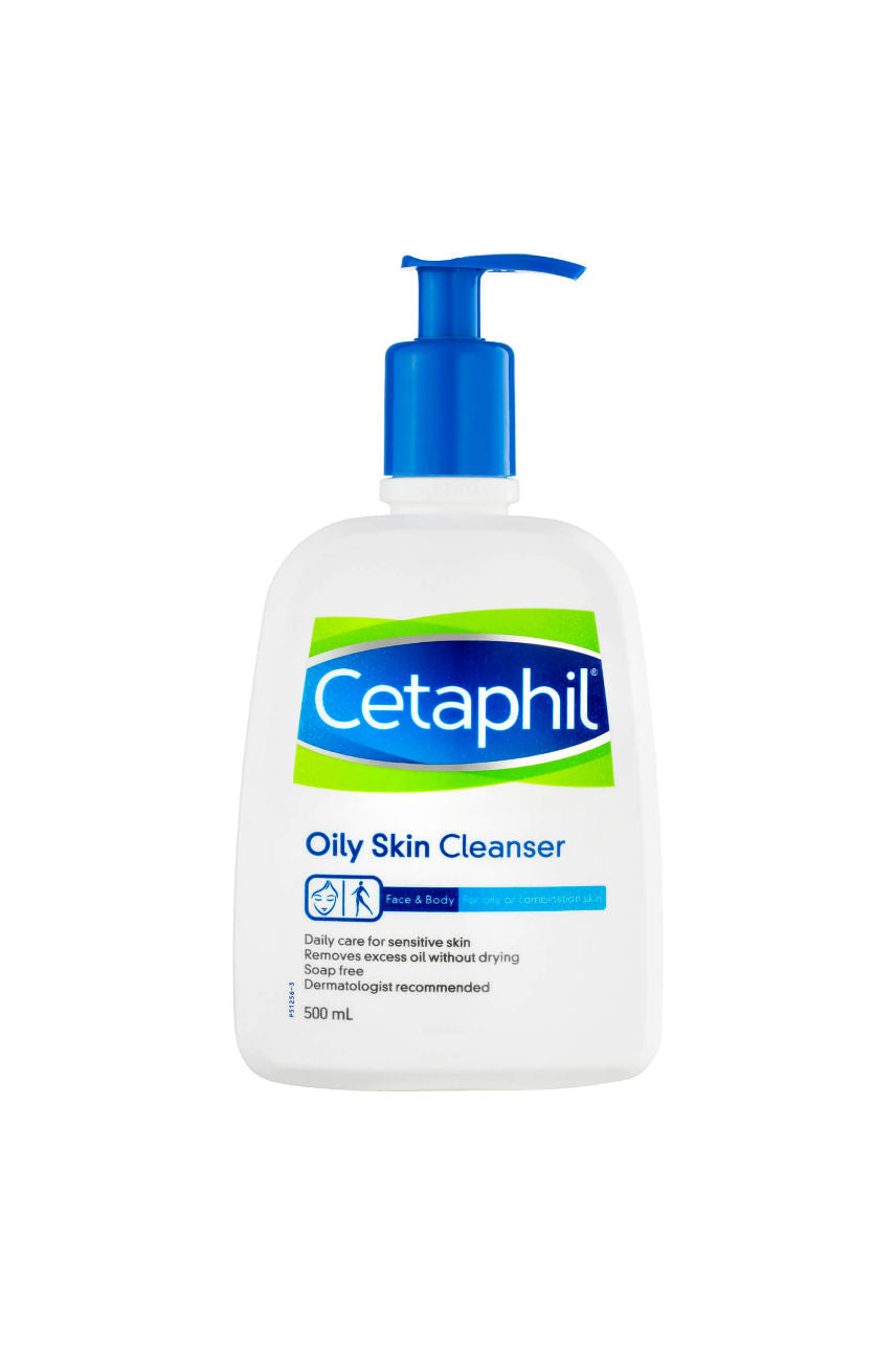 CETAPHIL Cleanser Oily Skin 500ml - Life Pharmacy St Lukes