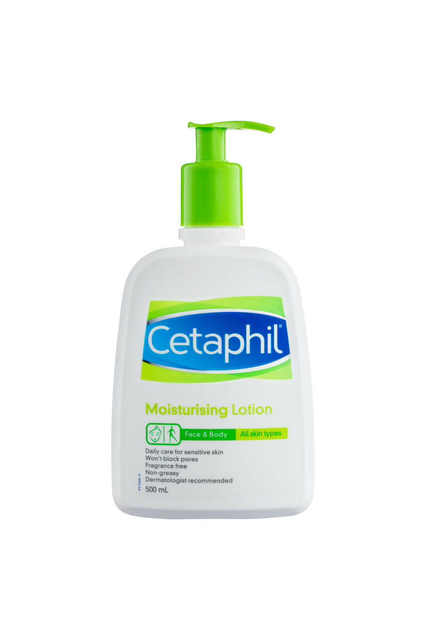 CETAPHIL Moisturising Lotion 500ml - Life Pharmacy St Lukes