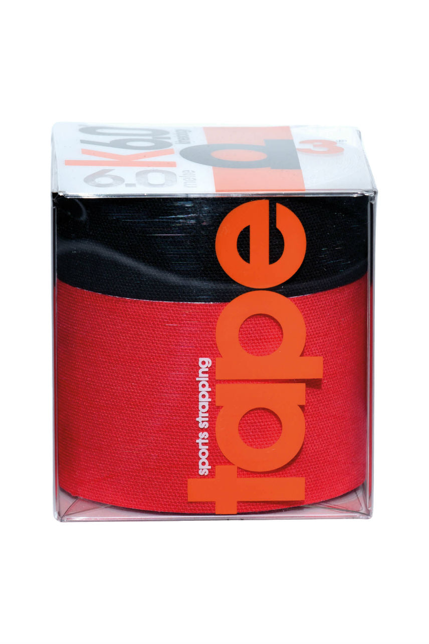 D3 KTape Red/Black 50+25mm x 6M 2pk - Life Pharmacy St Lukes