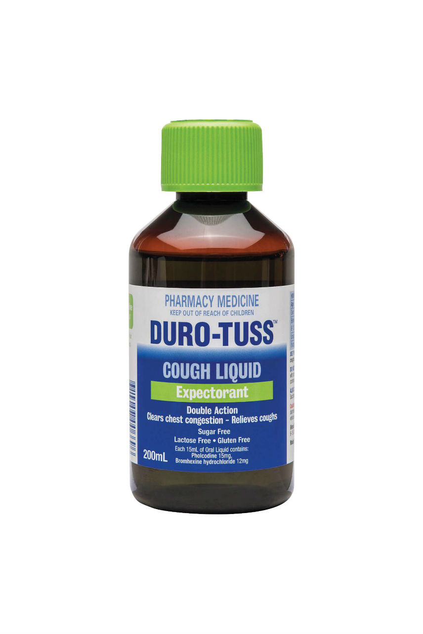 DURO-TUSS Expectorant 200ml - Life Pharmacy St Lukes