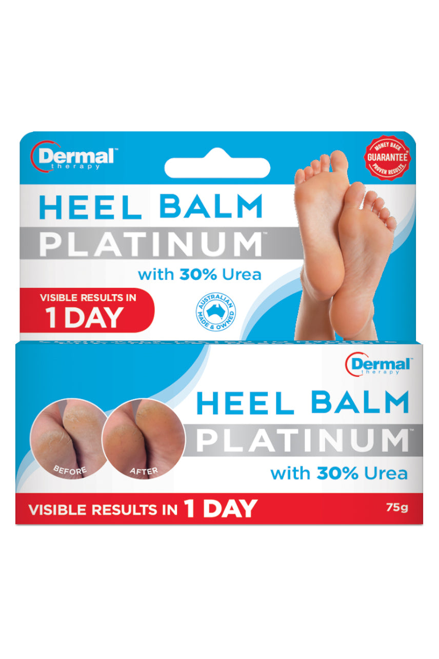 DERMAL THERAPY Heel Balm Platinum 75g - Life Pharmacy St Lukes