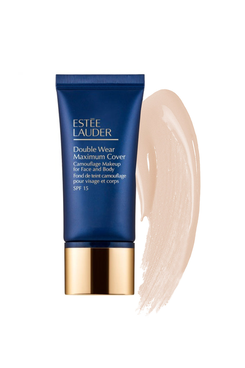ESTÉE LAUDER Double Wear Maximum Cover Camouflage Makeup for Face and Body SPF 15 1C1 Cool Bone - Life Pharmacy St Lukes