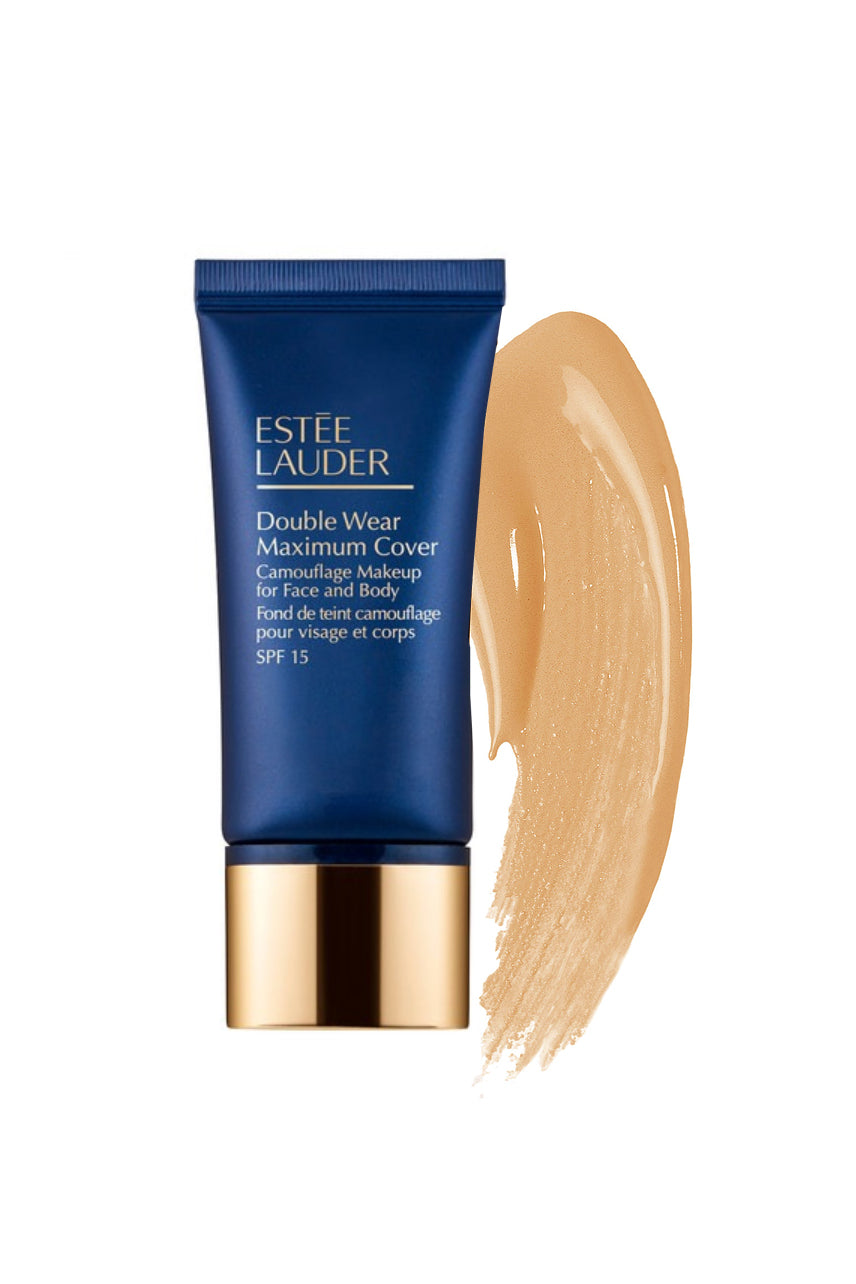 ESTÉE LAUDER Double Wear Maximum Cover Camouflage Makeup for Face and Body SPF 15 3W2 Cashew - Life Pharmacy St Lukes