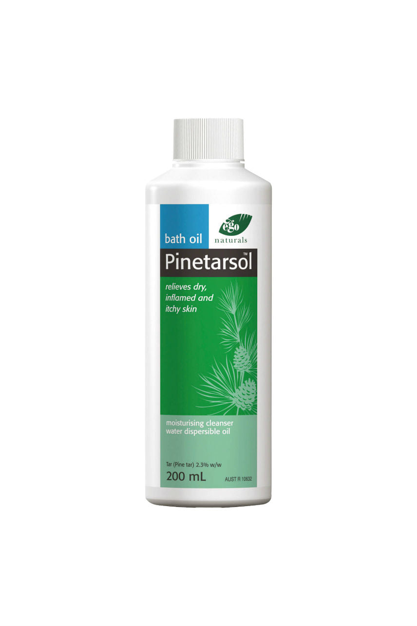 EGO Pinetarsol Bath Oil 200ml - Life Pharmacy St Lukes