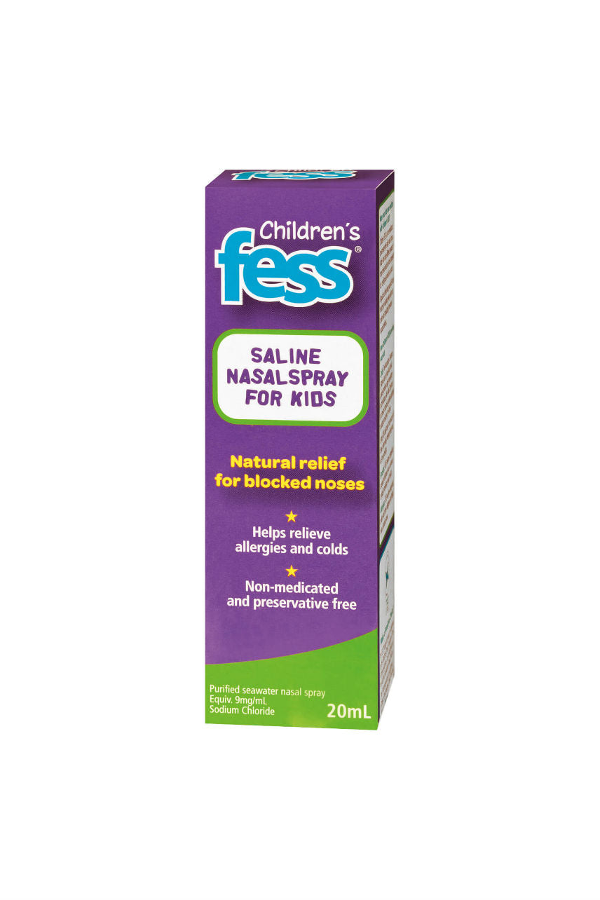 FESS Saline Nasal Spray Kids 20ml - Life Pharmacy St Lukes