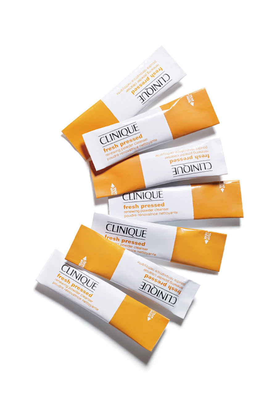 CLINIQUE Fresh Pressed Renewing Powder Cleanser with Pure Vitamin C x28 - Life Pharmacy St Lukes
