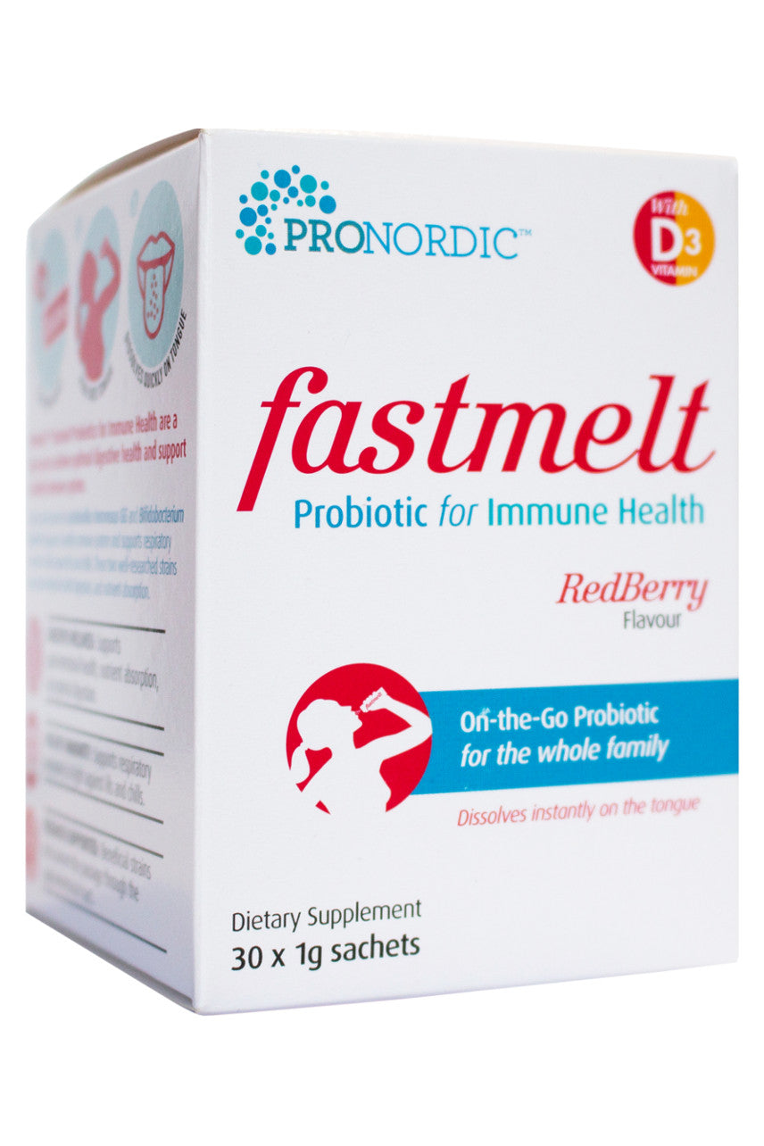 ProNordic Fastmelt Probiotic for Immune Health 30x1g sachets - Life Pharmacy St Lukes