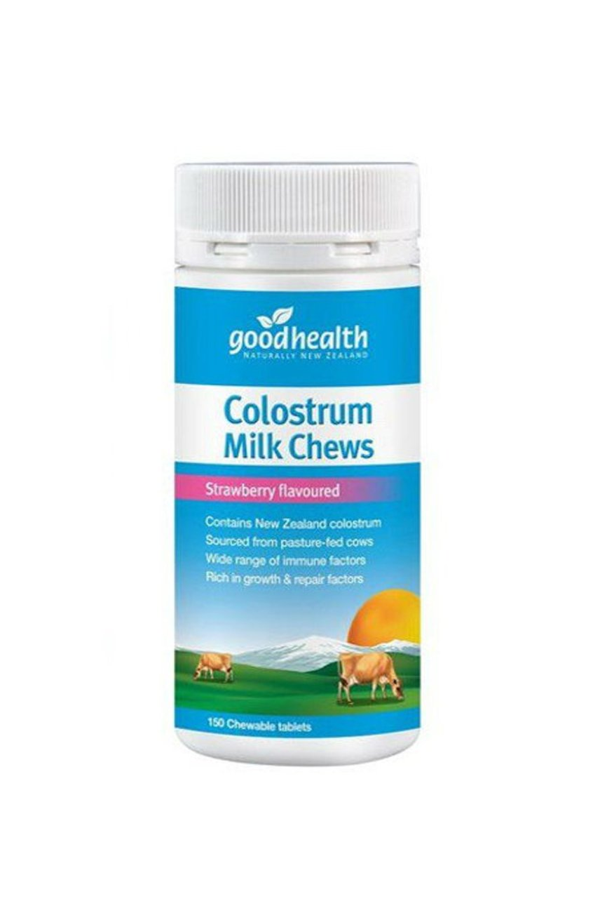 GOOD HEALTH Colostrum Milk Chews Strawberry 150tabs - Life Pharmacy St Lukes