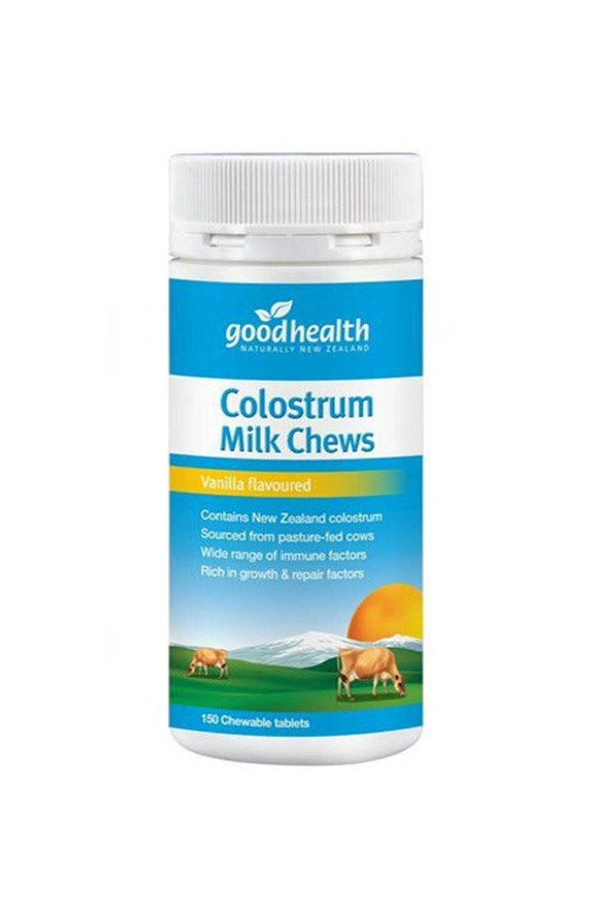 GOOD HEALTH Colostrum Milk Chews Vanilla 150tabs - Life Pharmacy St Lukes