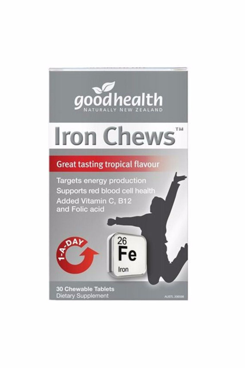 GOOD HEALTH Iron Chews 30tabs - Life Pharmacy St Lukes
