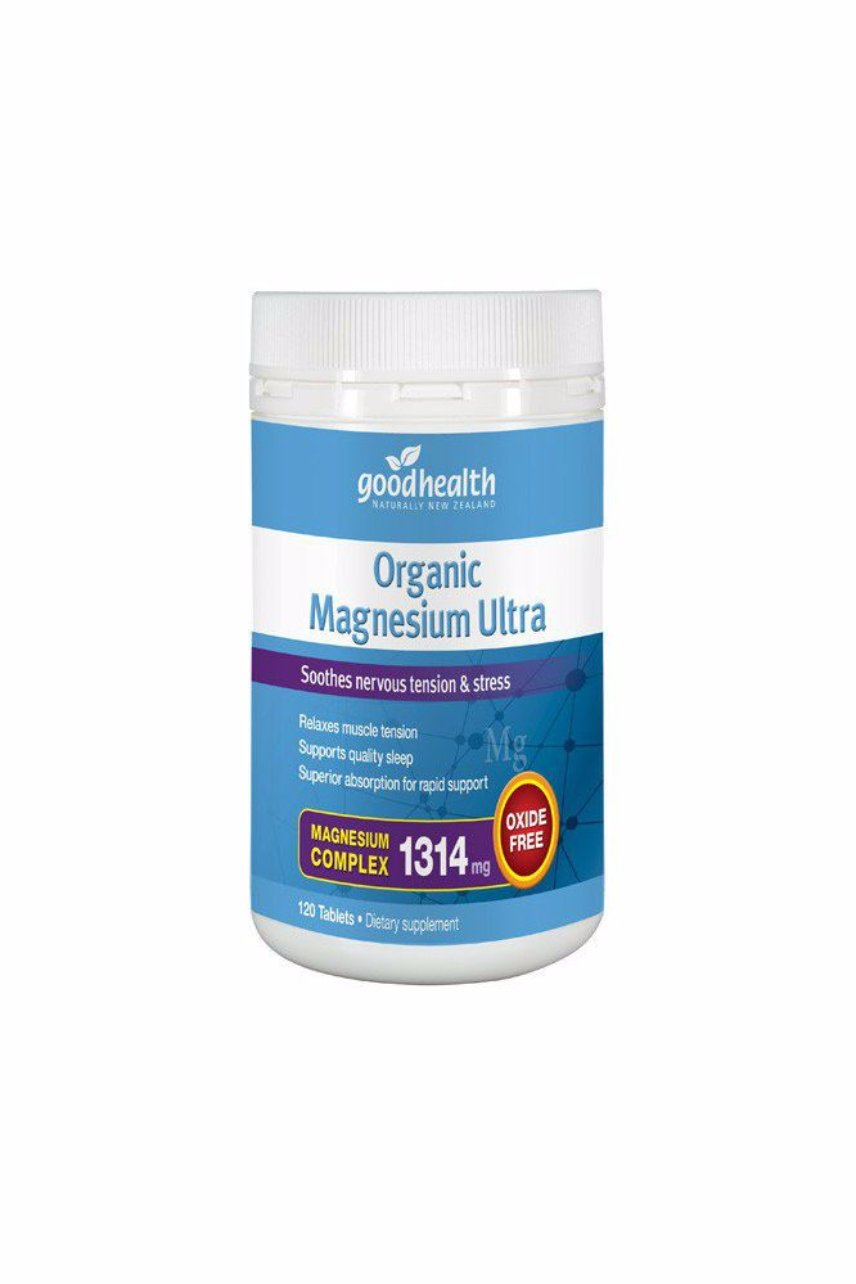 GOOD HEALTH Organic Magnesium Ultra 120tab - Life Pharmacy St Lukes