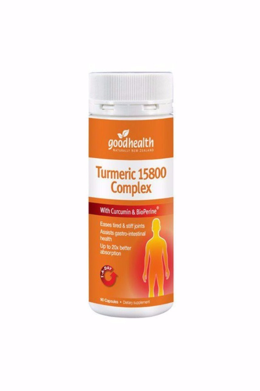 GOOD HEALTH Turmeric 15800 Complex 90caps - Life Pharmacy St Lukes