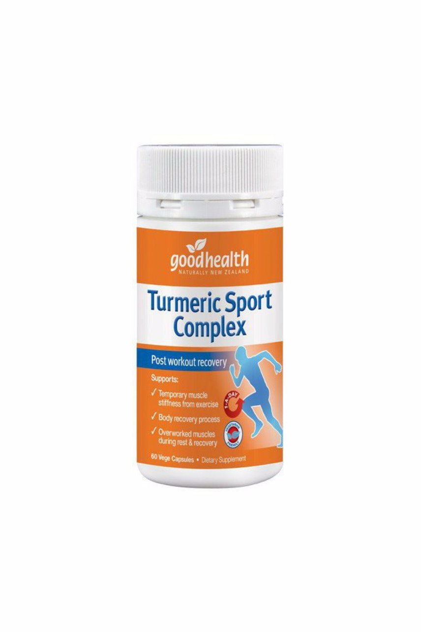 GOOD HEALTH Turmeric Sport Complex 60caps - Life Pharmacy St Lukes