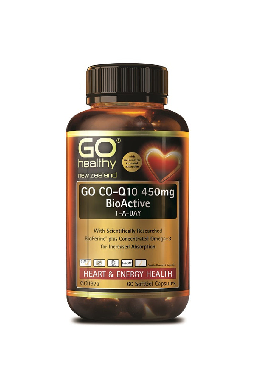 GO HEALTHY CoQ10 450mg BioActive 1ADay 60s - Life Pharmacy St Lukes