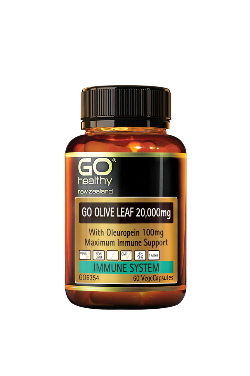 GO HEALTHY Olive Leaf 20000 mg 60 Capsules - Life Pharmacy St Lukes