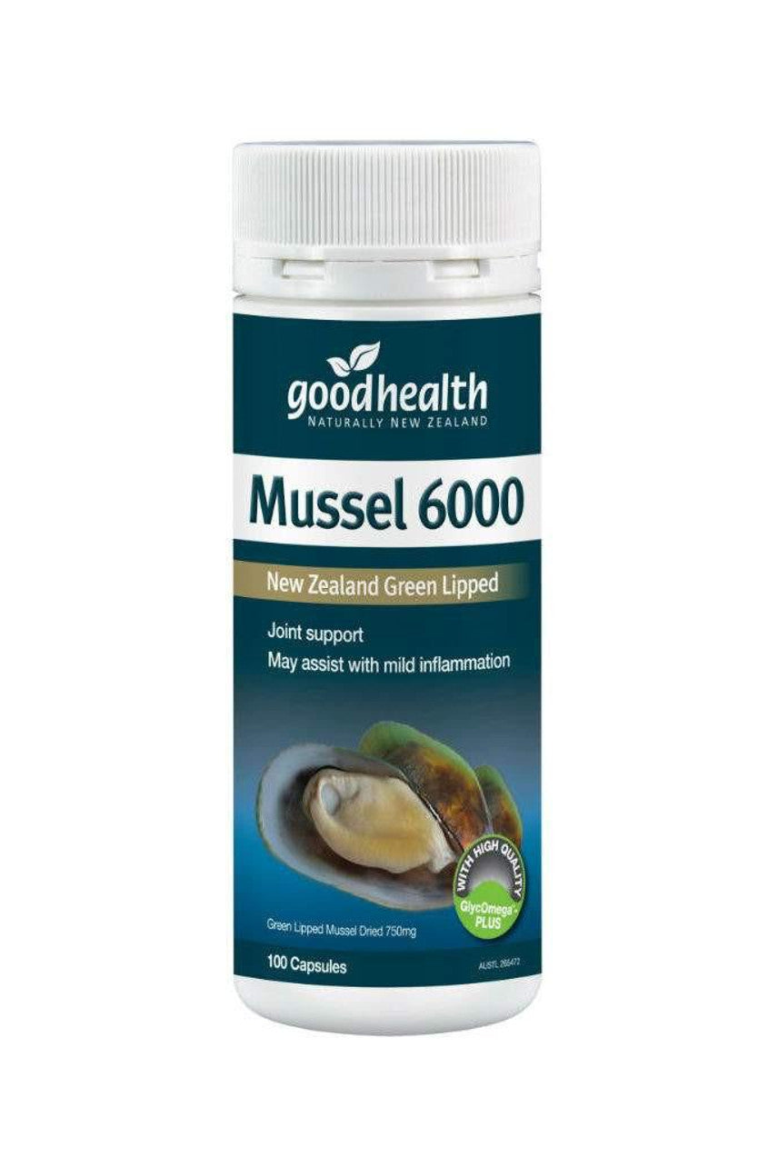 GOOD HEALTH Mussel 6000mg 100caps - Life Pharmacy St Lukes
