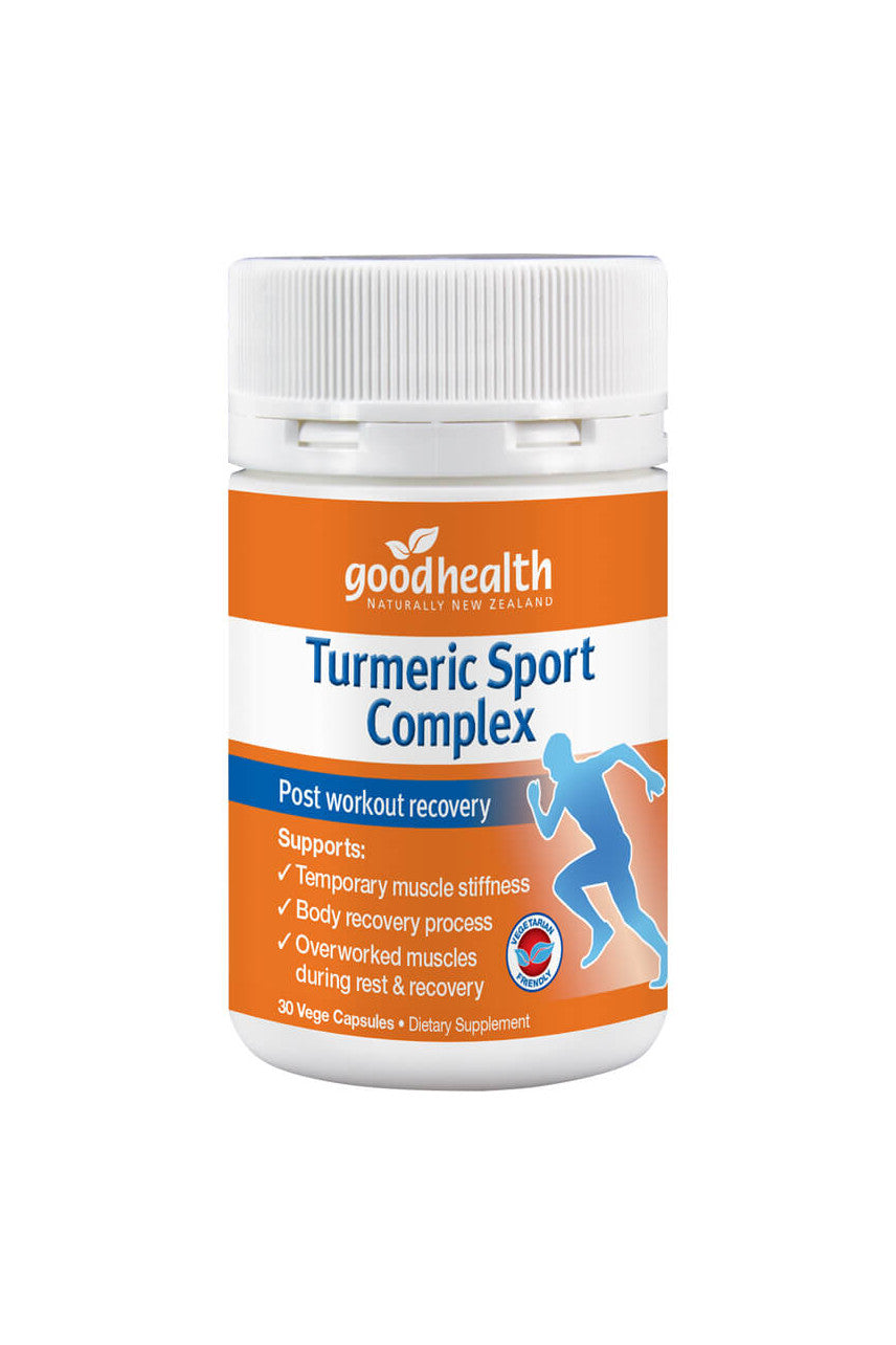 GOOD HEALTH Turmeric Sport Complex 30caps - Life Pharmacy St Lukes