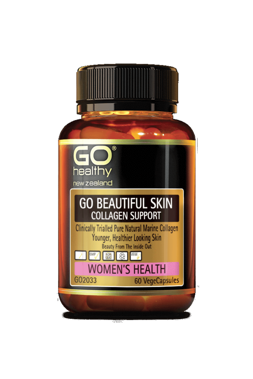 GO Healthy Beautiful Skin Collagen Support 60 Vege Capsules - Life Pharmacy St Lukes