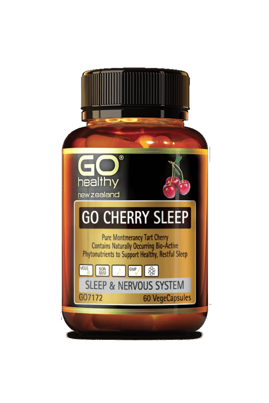 GO Healthy Cherry Sleep 60vcaps - Life Pharmacy St Lukes