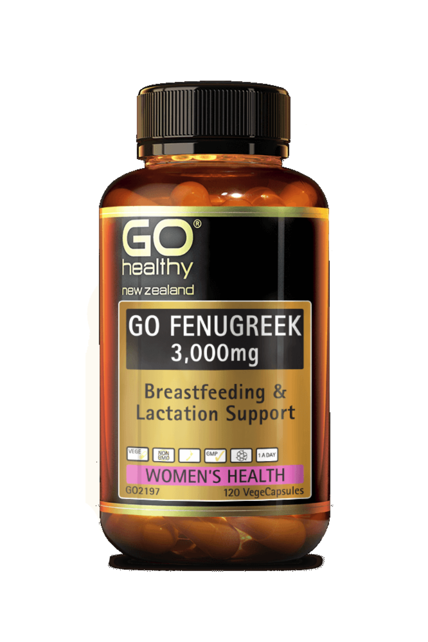 GO Healthy Fenugreek 3000mg 120vcaps - Life Pharmacy St Lukes