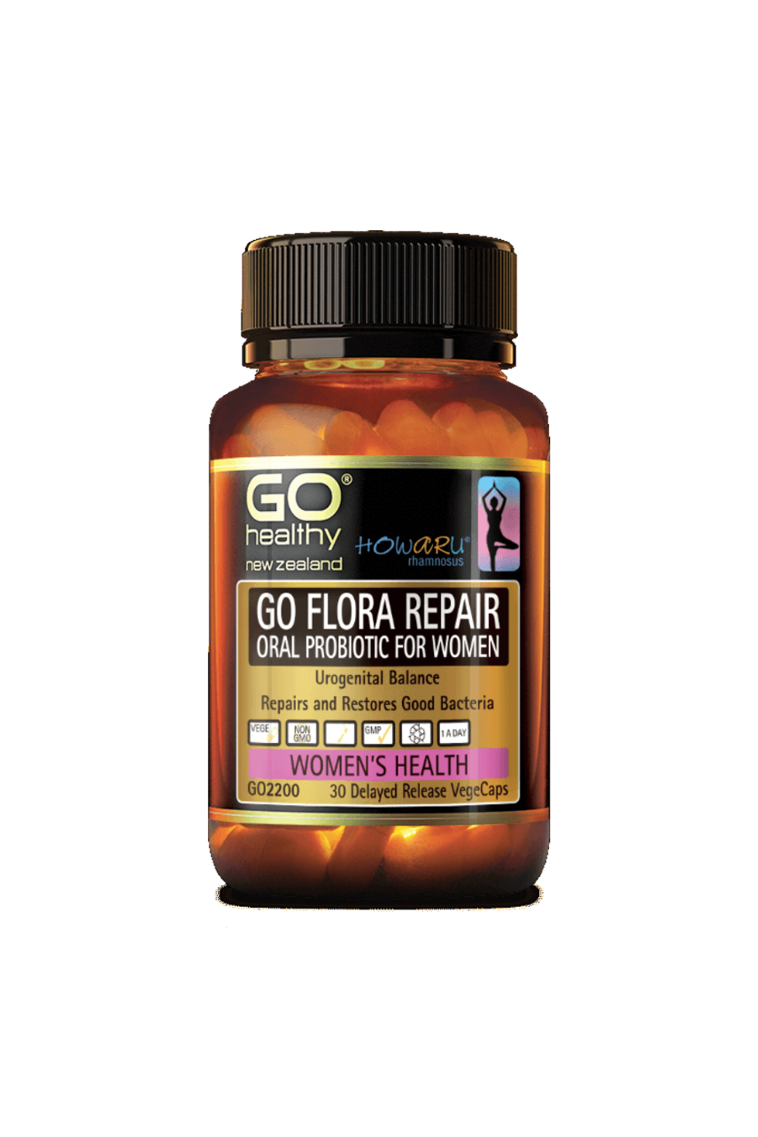 GO HEALTHY Flora Repair 30vcaps - Life Pharmacy St Lukes