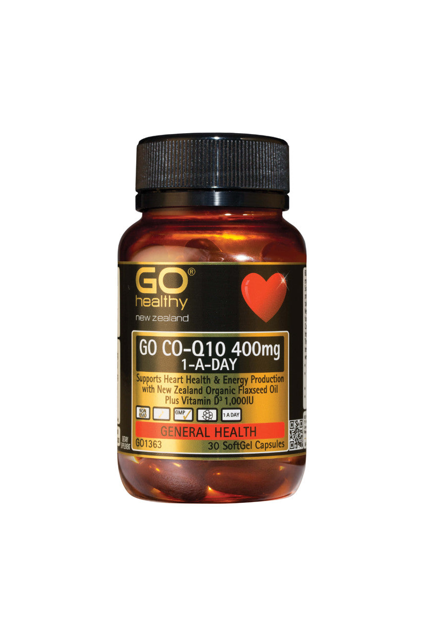 GO HEALTHY CoQ10 400mg 1-A-Day 30caps - Life Pharmacy St Lukes