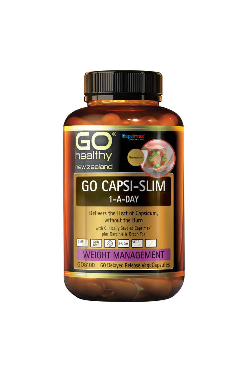 GO HEALTHY Capsi-Slim 1-A-Day 60 Vcaps - Life Pharmacy St Lukes