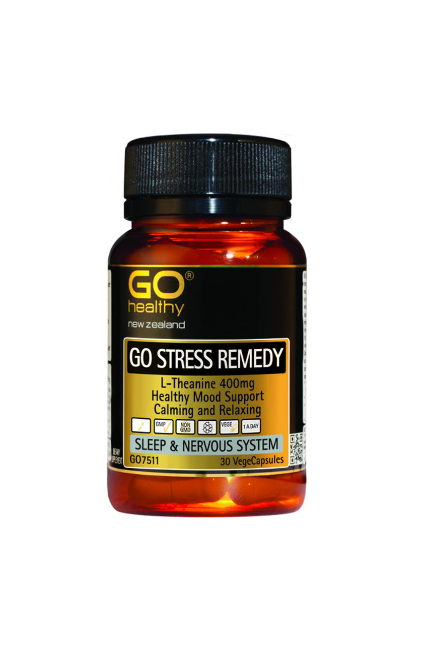 GO HEALTHY Stress Remedy 30vcaps - Life Pharmacy St Lukes
