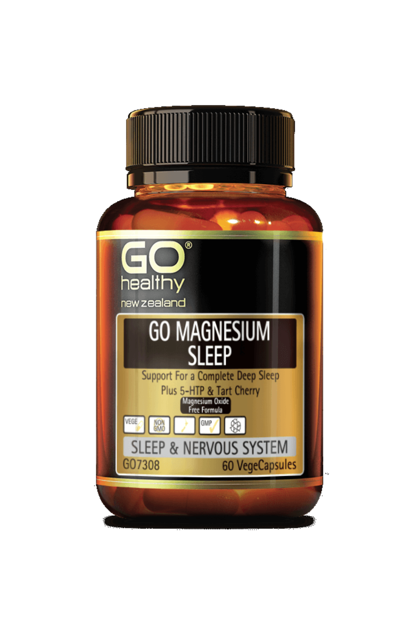 GO Healthy Magnesium Sleep 60vcaps - Life Pharmacy St Lukes