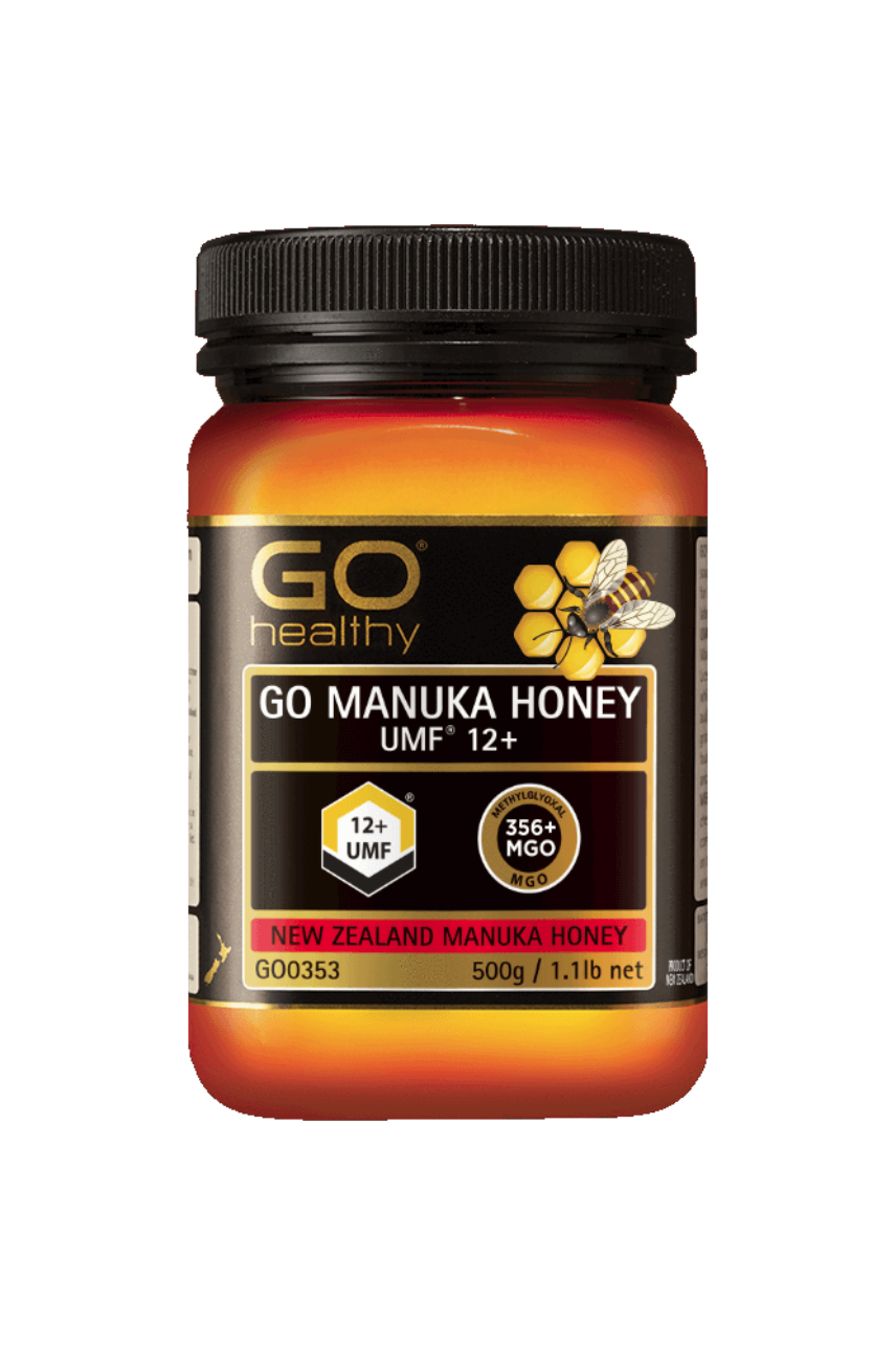 GO Healthy Manuka Honey UMF 12+ 500g - Life Pharmacy St Lukes