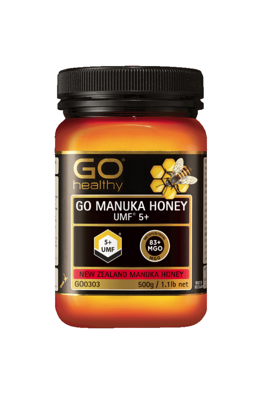 GO Healthy Manuka Honey UMF 5+ 500g - Life Pharmacy St Lukes