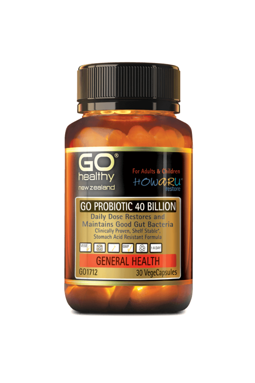 GO Healthy Probiotic 40B HOWARU Restore 30 - Life Pharmacy St Lukes