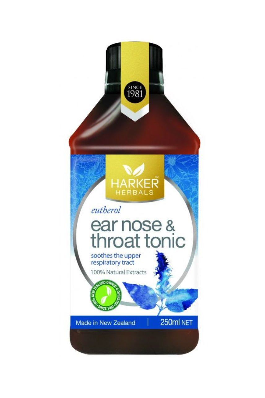 Harker Herbals Ear Nose & Throat Tonic 250ml - Life Pharmacy St Lukes