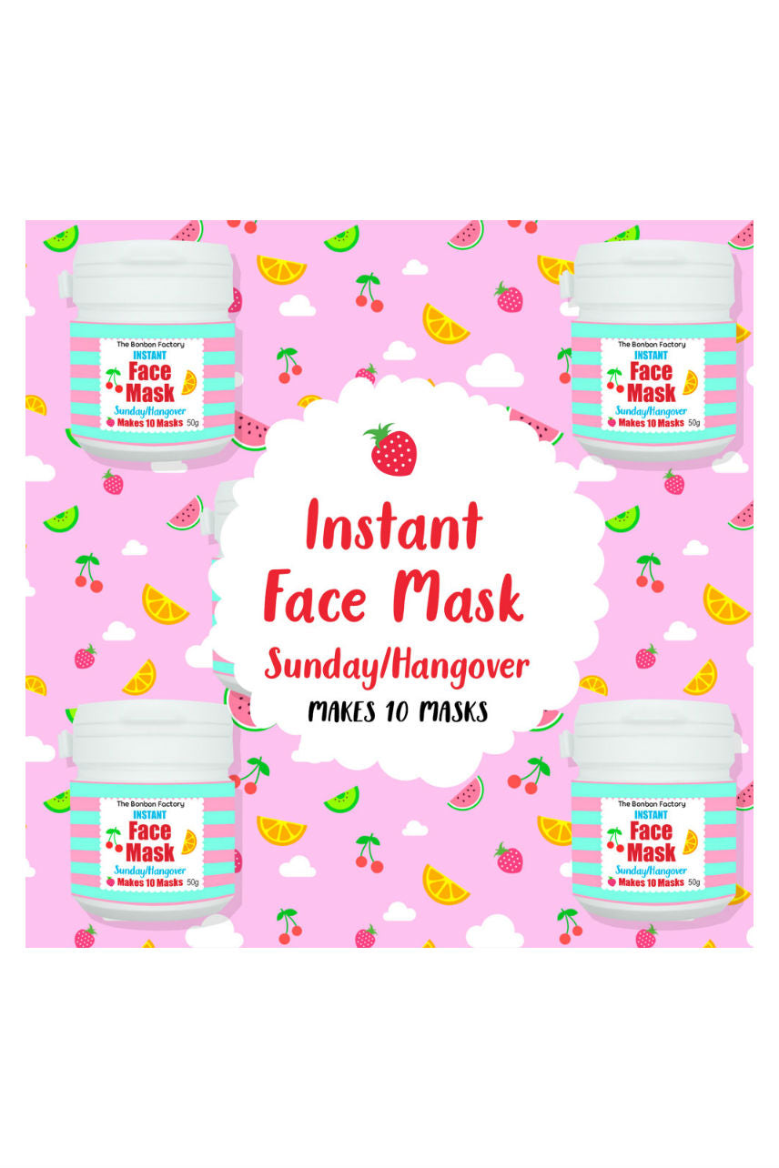 BONBON Face Mask Sunday Hang Over 50g - Life Pharmacy St Lukes