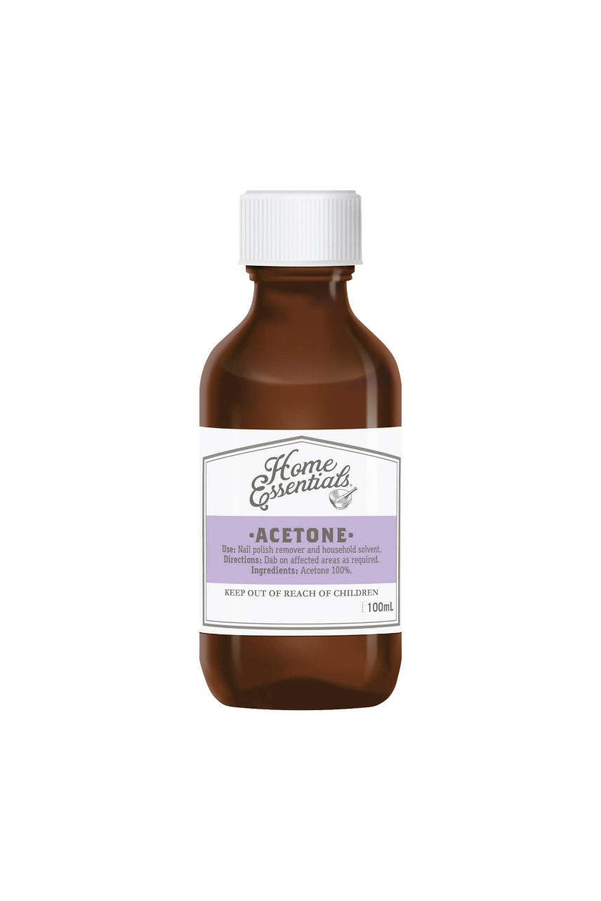 Home Essentials Acetone 100ml - Life Pharmacy St Lukes