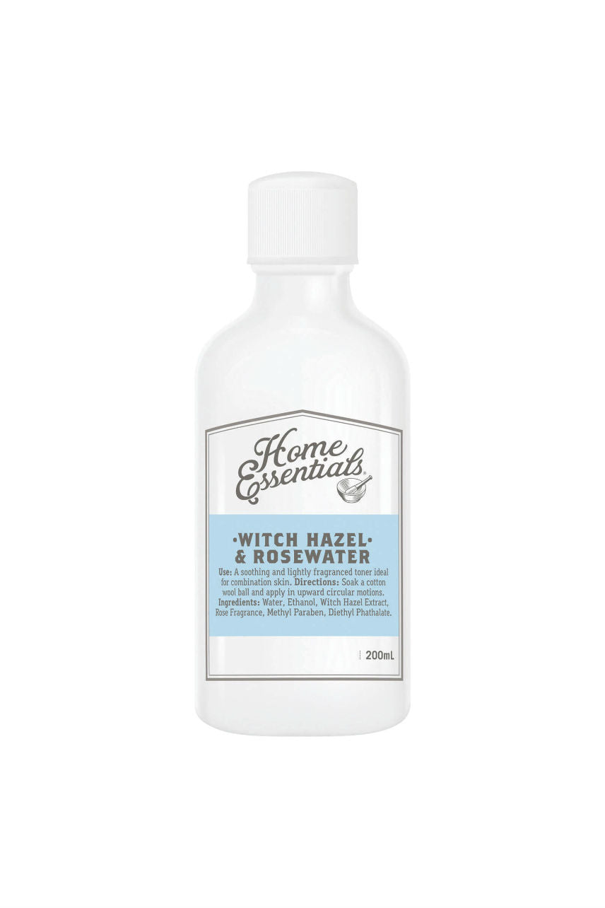 Home Essentials Witch Hazel & Rosewater 200ml - Life Pharmacy St Lukes