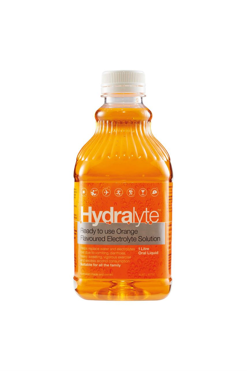 HYDRALYTE Ready To Drink Orange 1L - Life Pharmacy St Lukes
