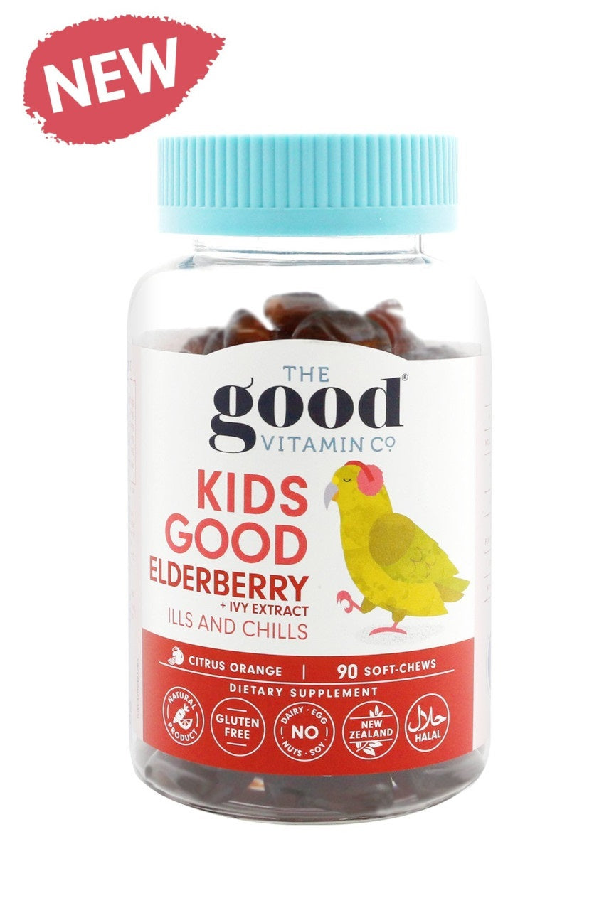 The Good Vitamin Co Kids Elderberry + Ivy Extract 90s - Life Pharmacy St Lukes