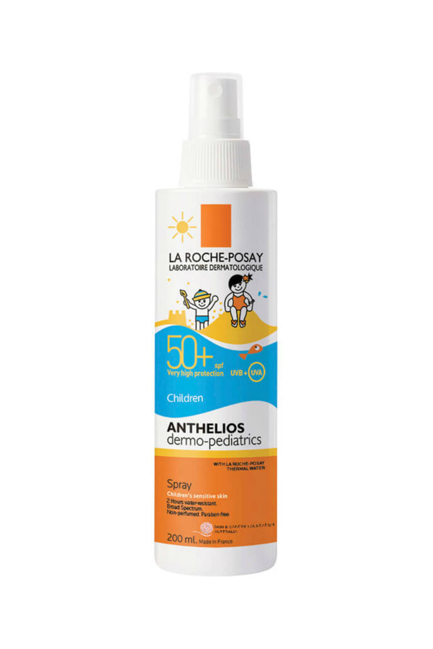 LA ROCHE-POSAY Anthelios Dermo-Paediatrics Spray SPF50+ 200ml - Life Pharmacy St Lukes