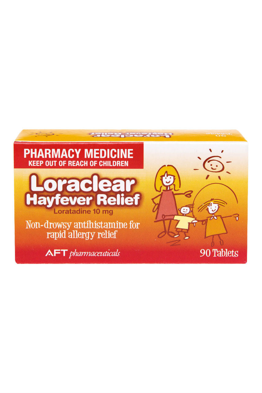 LORACLEAR Hayfever 10mg 90 tabs - Life Pharmacy St Lukes