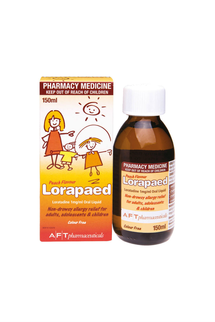 LORAPAED Oral Liquid 150ml - Life Pharmacy St Lukes