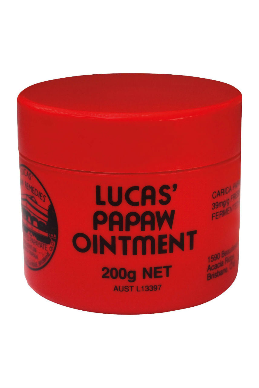 LUCAS Papaw Ointment 200g - Life Pharmacy St Lukes