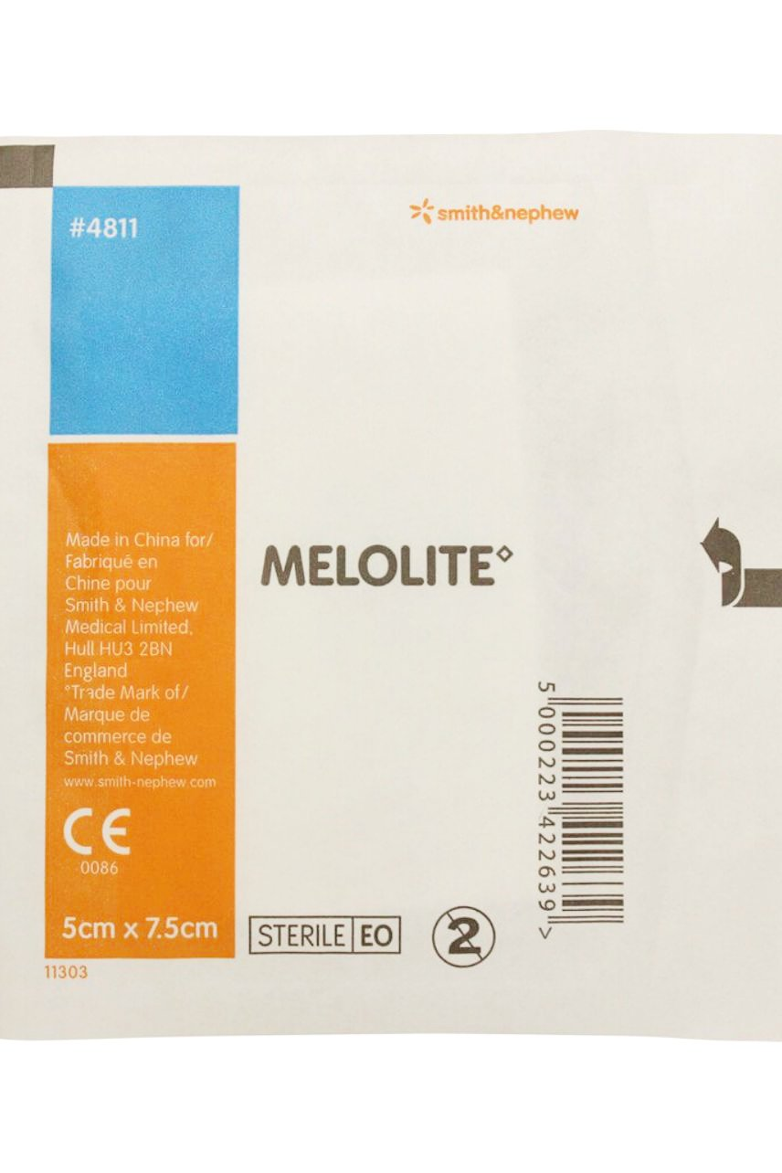 MELOLITE Absorbent Non-Adherent Dressings 5cm x 7.5cm - Life Pharmacy St Lukes
