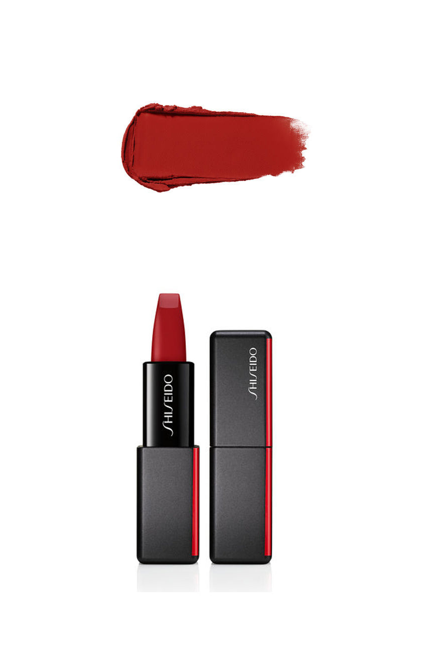 SHISIEDO ModernMatte Powder Lipstick  516 Exotic Red - Life Pharmacy St Lukes