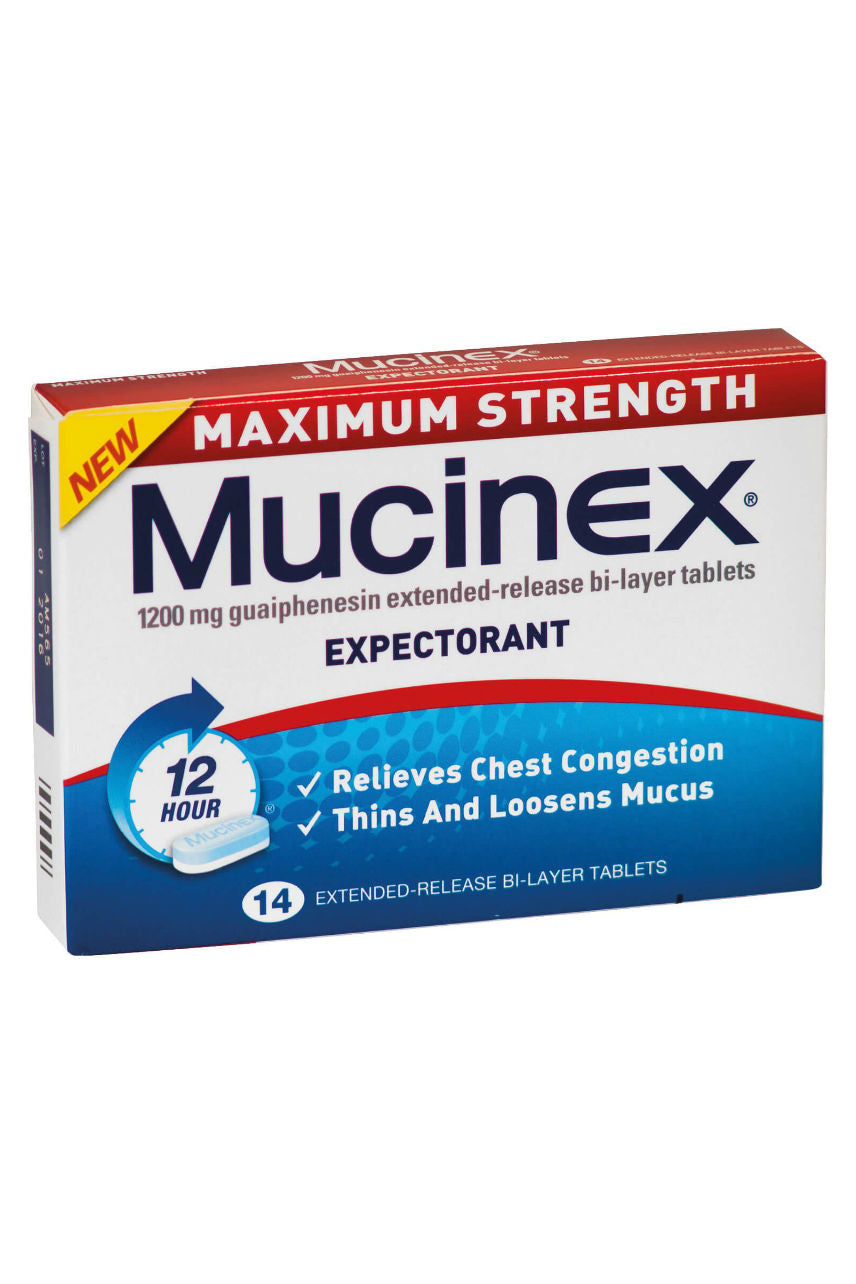 MUCINEX Maximum Strength 1200mg 14s - Life Pharmacy St Lukes