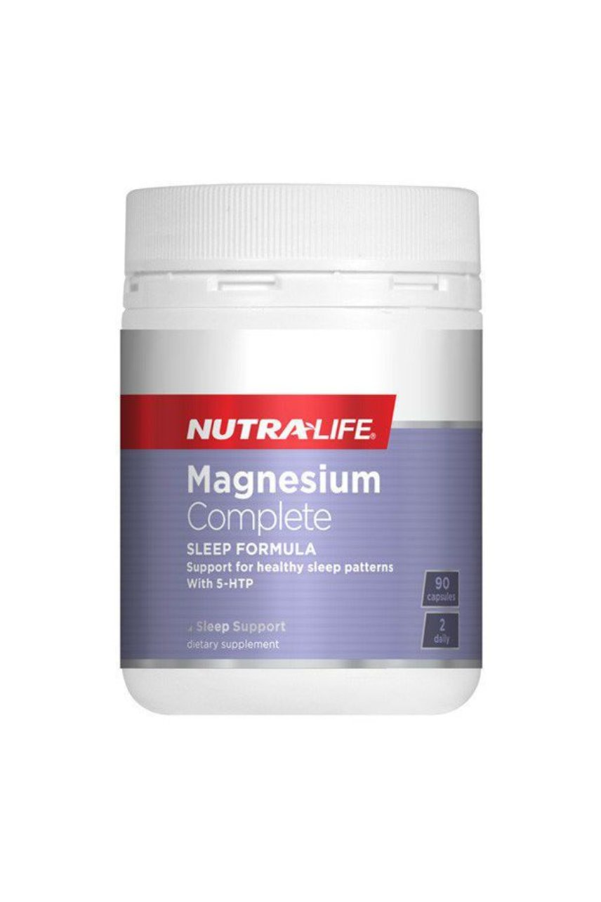 NUTRALIFE Magnesium Complete Sleep 90caps - Life Pharmacy St Lukes