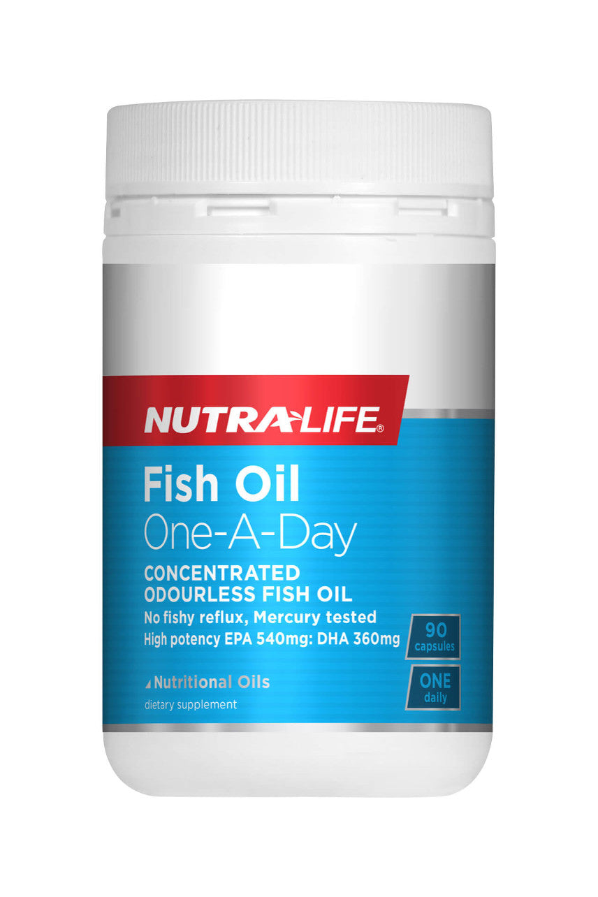 NUTRALIFE Fish Oil  1-a-day 90s - Life Pharmacy St Lukes