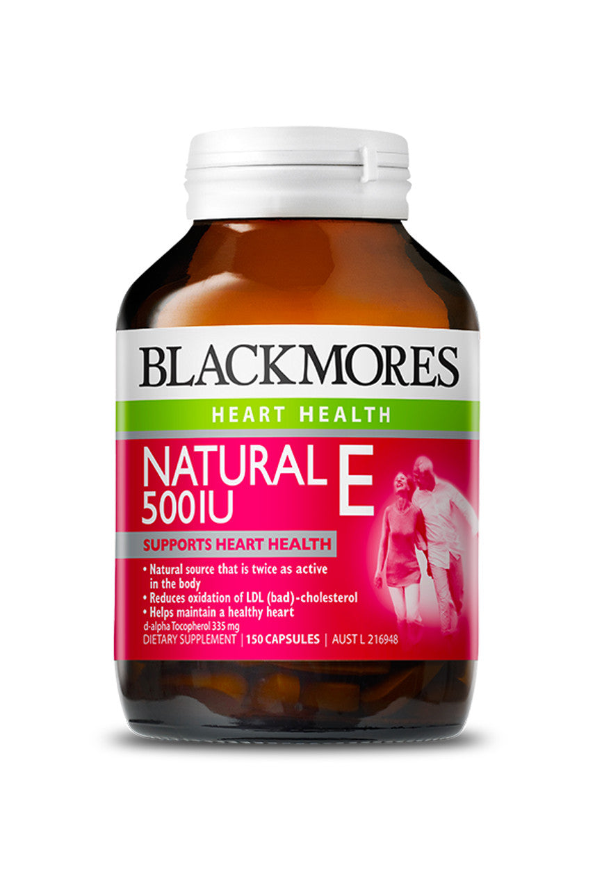 BLACKMORES Vitamin E 500IU 150caps - Life Pharmacy St Lukes