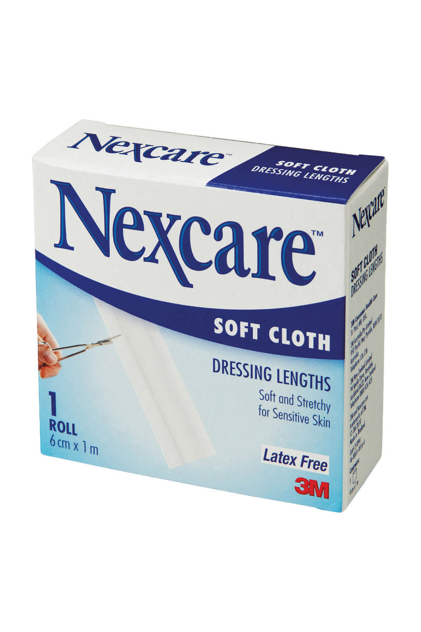 Nexcare Soft Cloth Dressing 6cmx1m - Life Pharmacy St Lukes